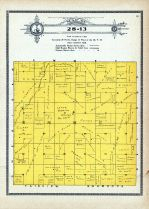 Township 28 Range 13, Emmet, Holt County 1915